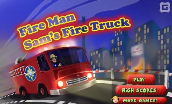 Fireman Sams Fire Truck