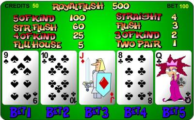 Flash Video Poker