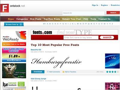 Fontstock.net