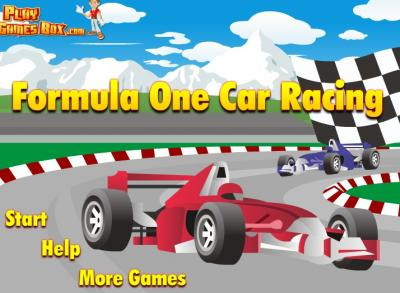 Formula One Car Racing