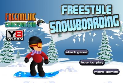 Freestyle Snowboarding Game
