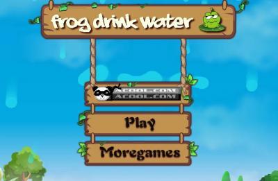 Frog Drink Water
