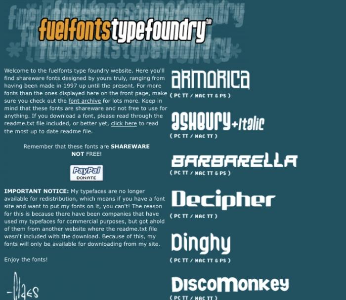 Fuelfonts.com