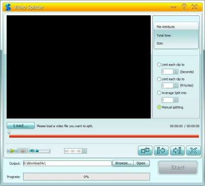 GiliSoft Video Splitter