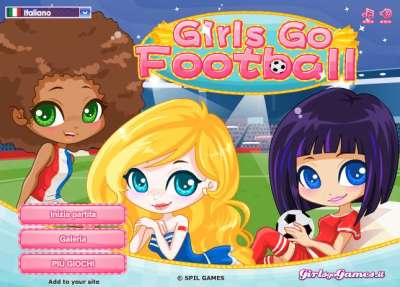 Girls Go Football
