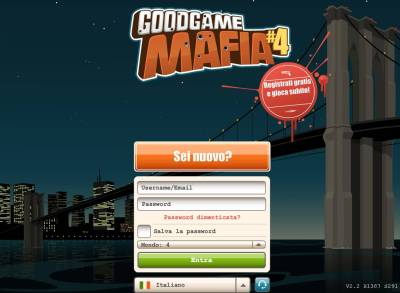 Goodgame Mafia - Impersonate un gangster e fate in modo ... Goodgame Gangster Goodgame Studios