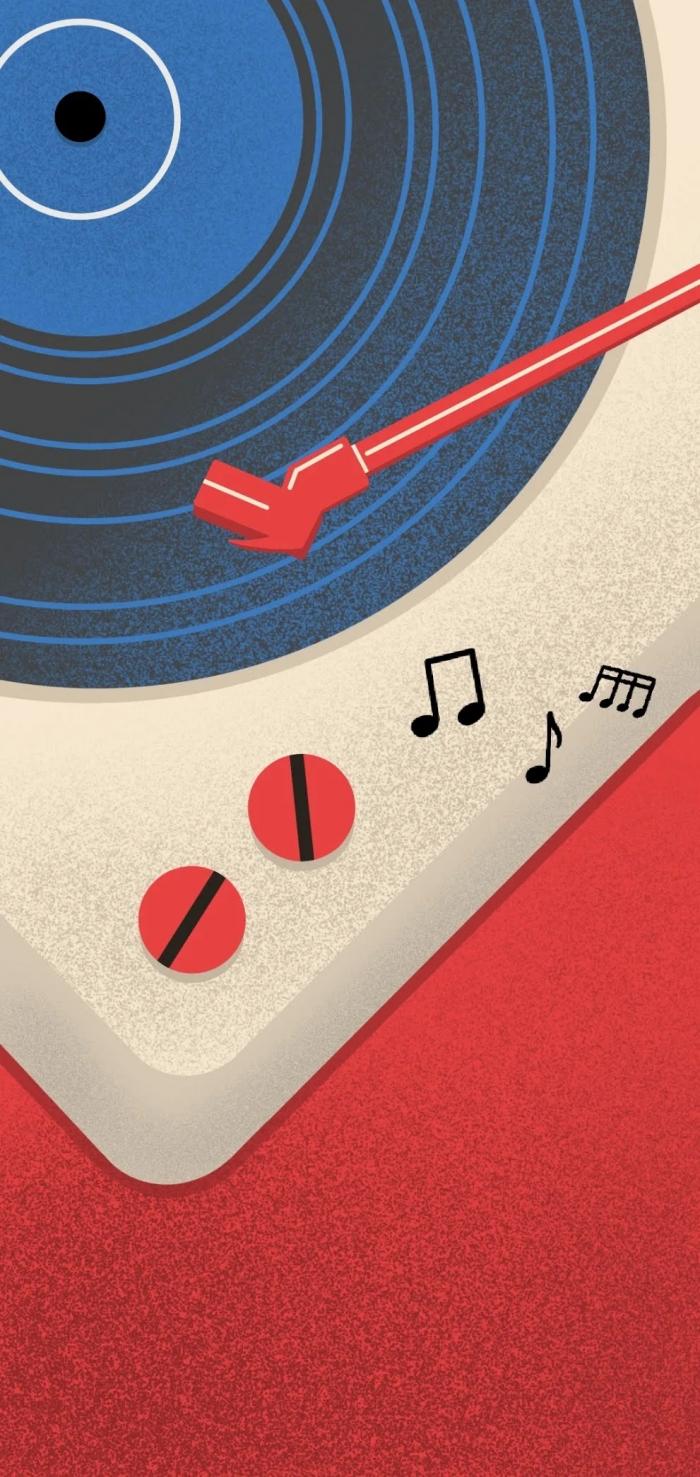 Google Pixel 5 Music wallpaper