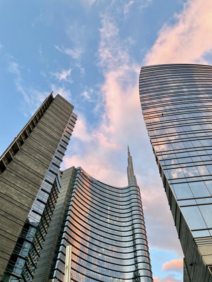 Grattacieli in Gae Aulenti