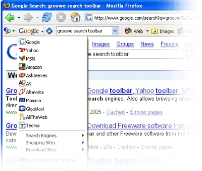 Groowe Search Toolbar