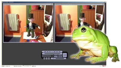 Helium Frog Animator