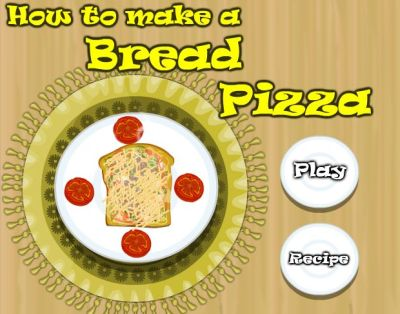 How To Make A Bread Pizza