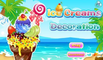 Ice Cream Decoration