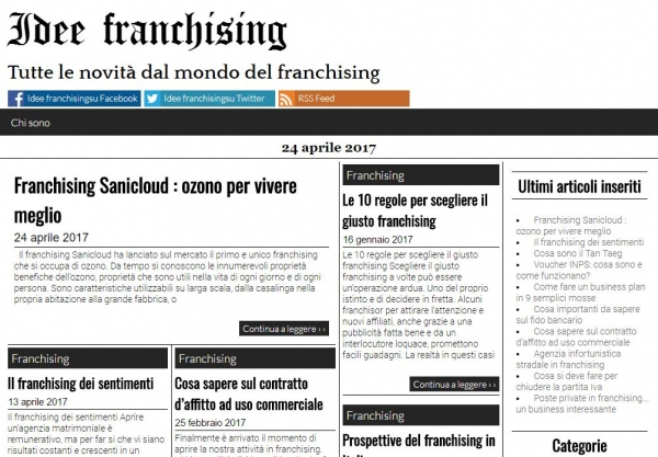 Ideefranchising.net
