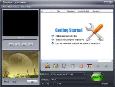 iMacsoft DVD Creator