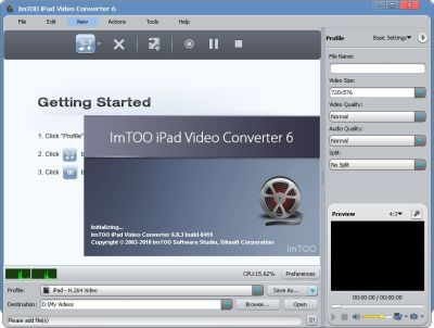 ImTOO iPad Video Converter