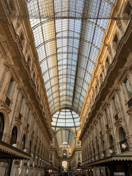 In Galleria a Milano