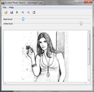 Instant Photo Sketch