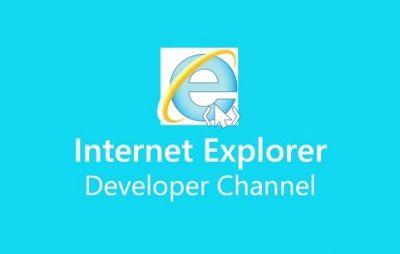 Internet Explorer Developer Channel