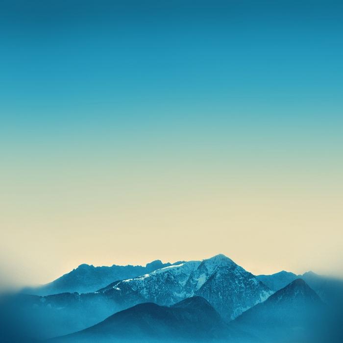 iPad Air Mountains
