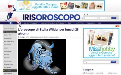 Irisoroscopo.it
