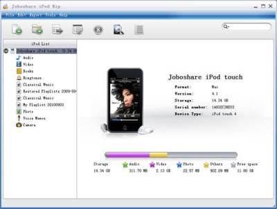 Joboshare iPod Rip