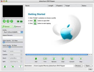 Joboshare Mac DVD Toolkit