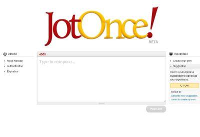JotOnce