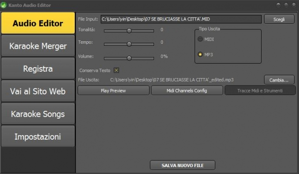 Kanto Audio Editor
