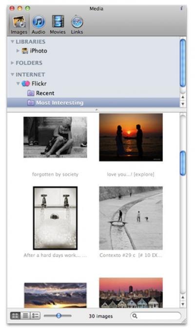 Karelia iMedia Browser