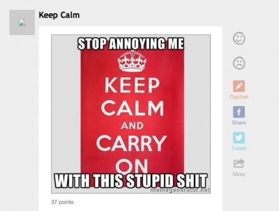 MemeGenerator Keep Calm