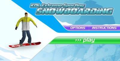 Kol Extreme Sporting Snowboarding