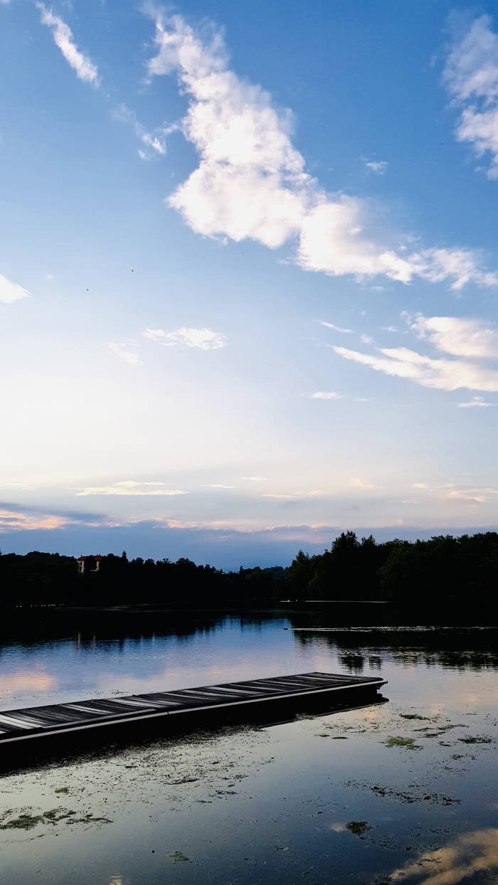 La calma del fiume