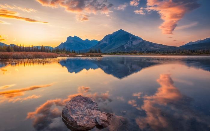 Lago vermiglio