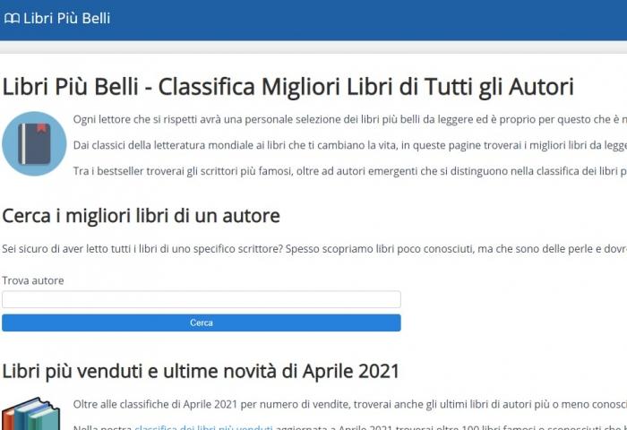 Libripiubelli.it
