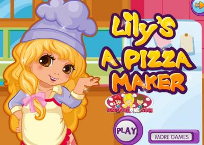 Lily is a Pizza Maker