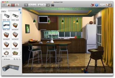 Arredare programmi di grafica per progettare ed arredare for Programma in 3d per arredare casa gratis