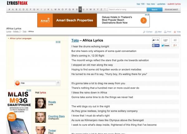 LyricsFreak
