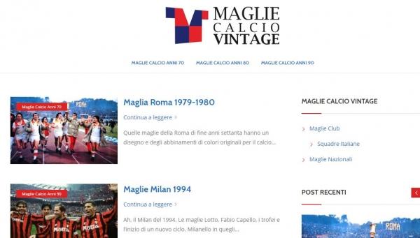 Maglie Calcio Vintage