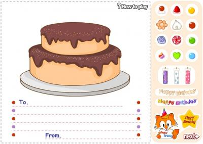 Make a Birthday Cake
