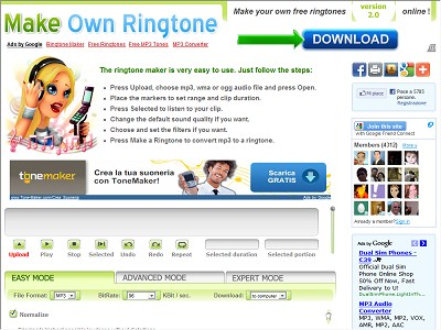 Make Own Ringtone