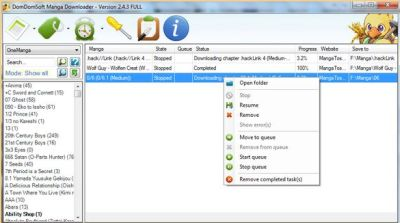 Manga Downloader
