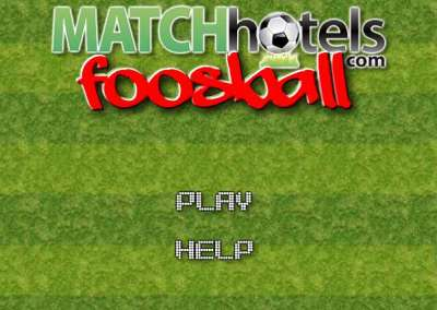 MATCHhotels Foosball