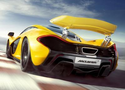 McLaren P1: foto ufficiali