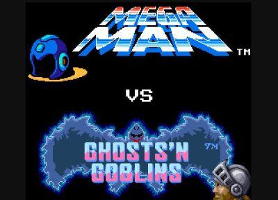 Megaman vs Ghost-n-Goblins