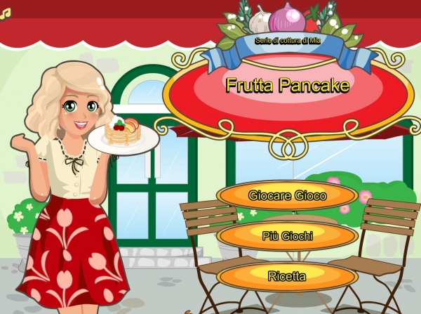 Mia Cooking Fruit Pancake