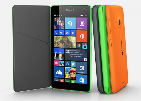 Microsoft Lumia 535 disponibile da oggi in India