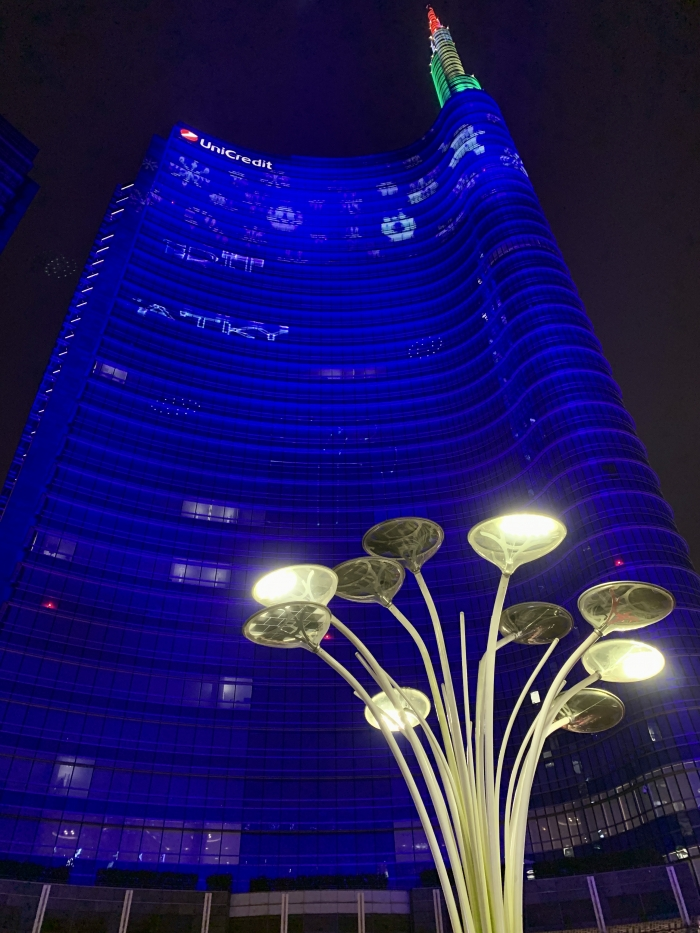 Milano Blu by Night