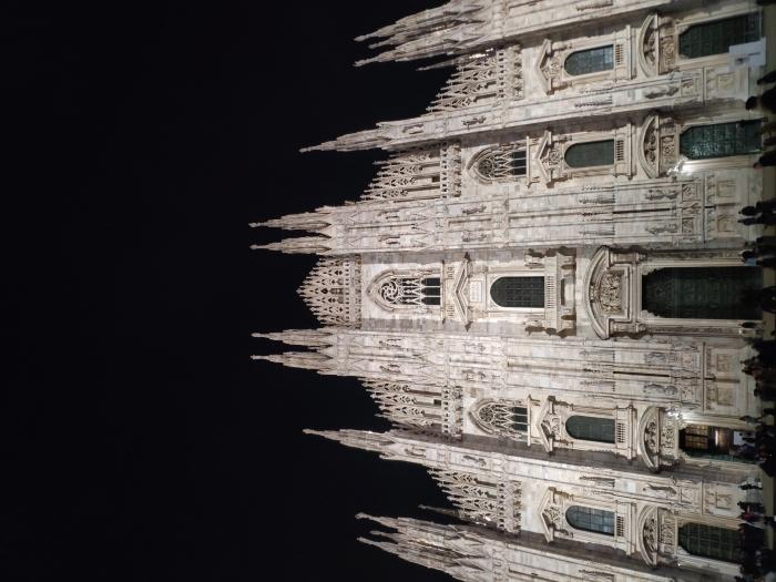 Milano ed il suo Duomo di notte