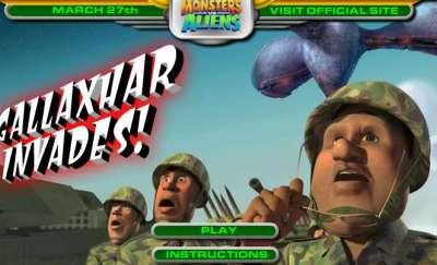 Monsters vs. Alien Gallaxhar Invades