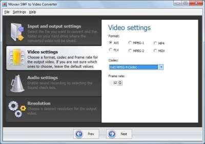Movavi Flash SWF to Video Converter